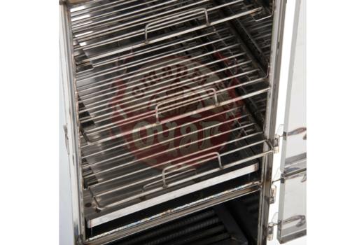 Коптильня с печью 2мм