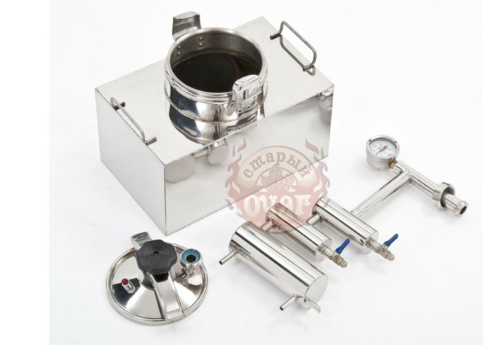 Самогонный аппарат дистиллятор Скороварка Куб